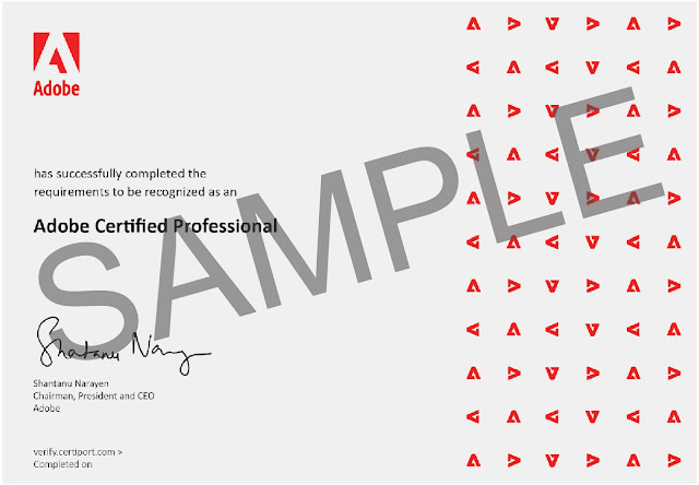 【Adobe】告別 ACA,全新的認證考試 Adobe ACP 來囉! - 證書也正式告別 ACA,轉為全新的 ACP 版本
