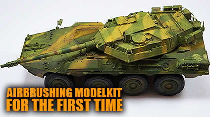 Airbrushing Modelkit For The First Time