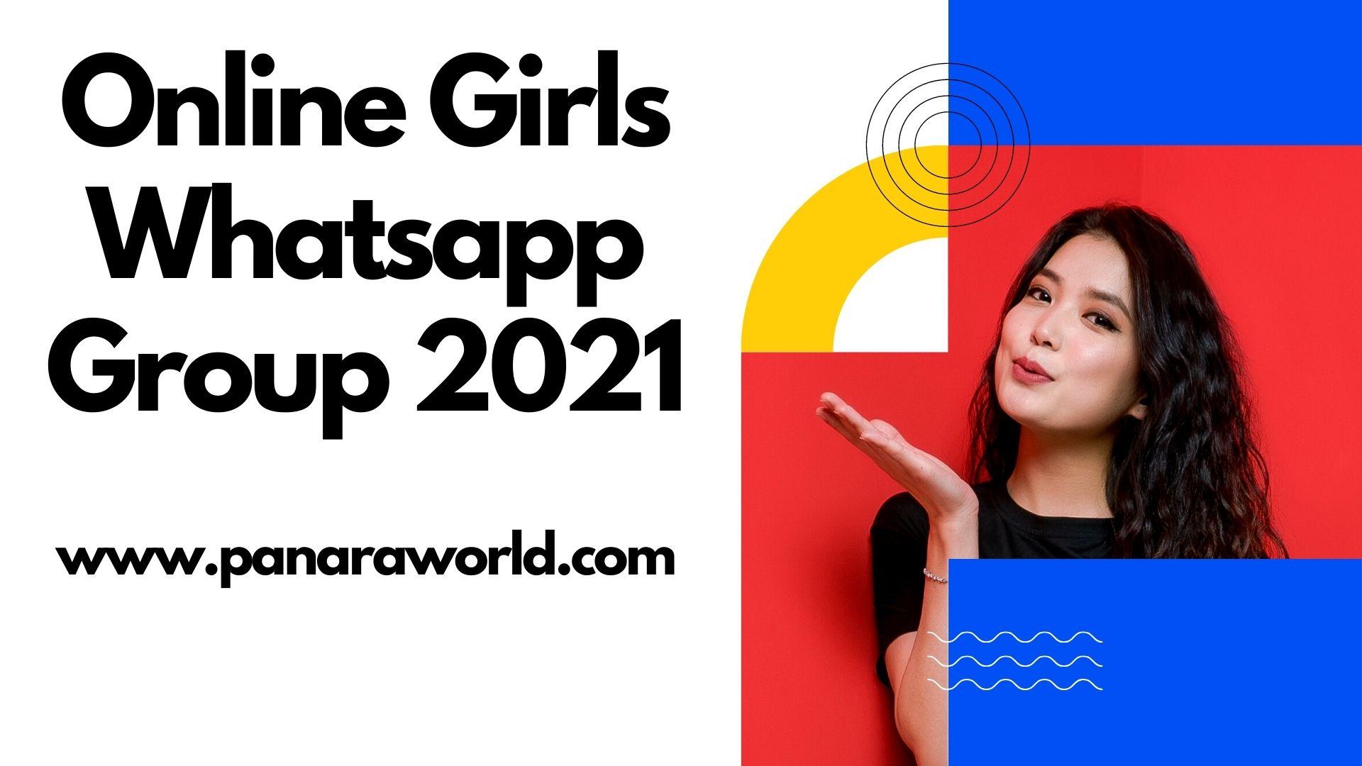Online Girls Whatsapp Group 2021 || Girls Whatsapp Group Links