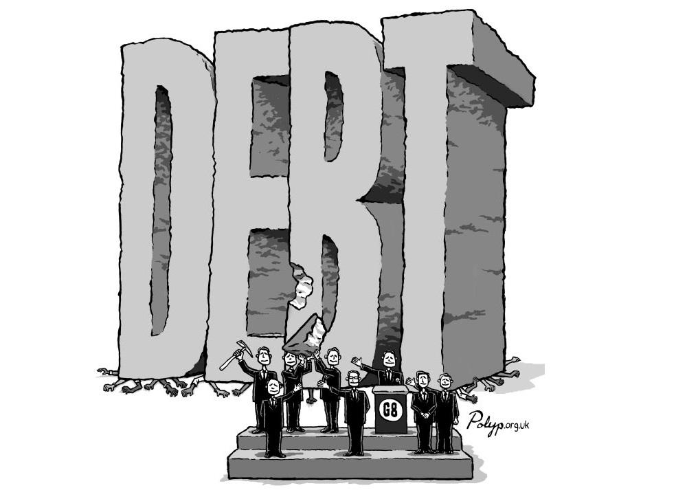 Αποτέλεσμα εικόνας για αμερικη χρεος cartoon