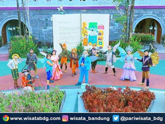 Buka Kembali, Ini Harga Tiket Terbaru, Jam Buka, dan Nomor Kontak Fairy Garden Bandung