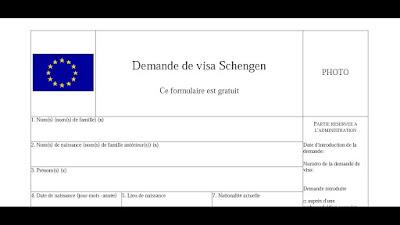 Comment télécharger formulaire visa-Espagne