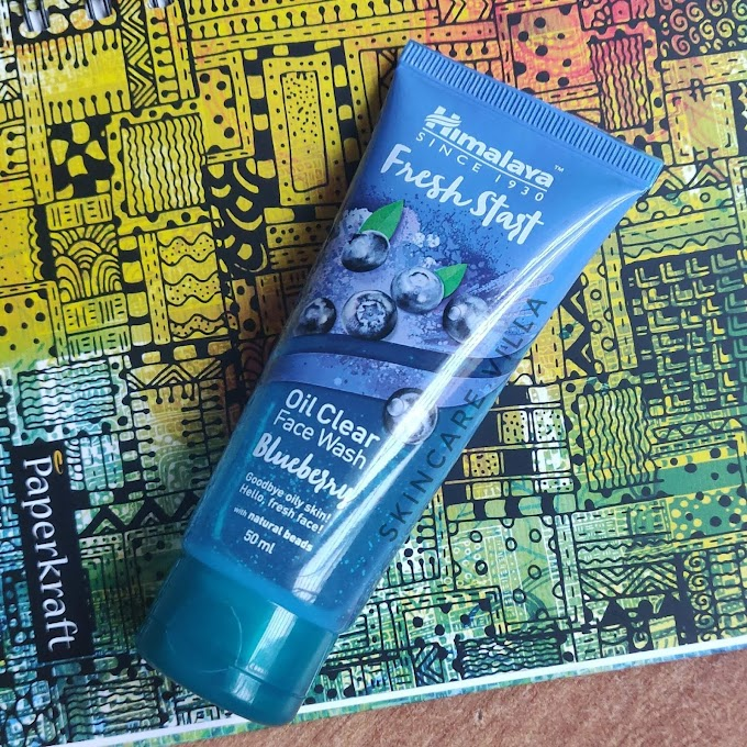 Himalaya Fresh Start Face Wash Blueberry Review