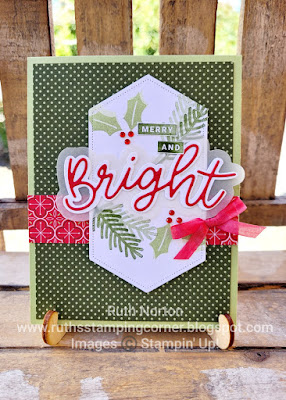 stampin' up, peace and joy