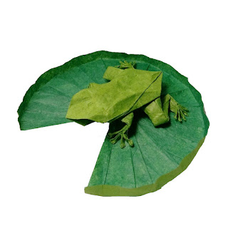 frog-on-a-lily-pad-origami