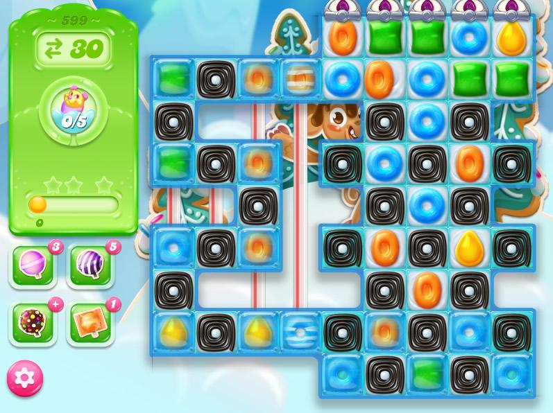 Candy Crush Jelly Saga level 599