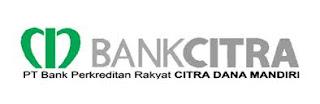 Bursa Lowongan PT. BPR Citra Dana Mandiri (Bank Citra) Agustus 2019