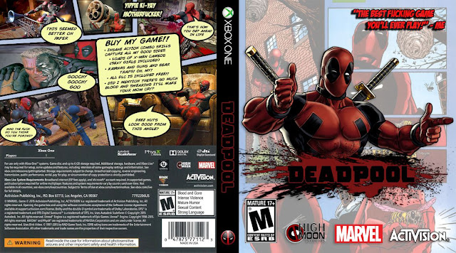 Capa Deadpool Xbox One