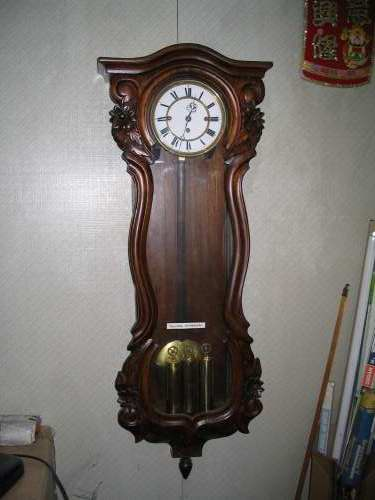 Clock Repair In Kuala Lumpur Antique Vienna 3 Weight