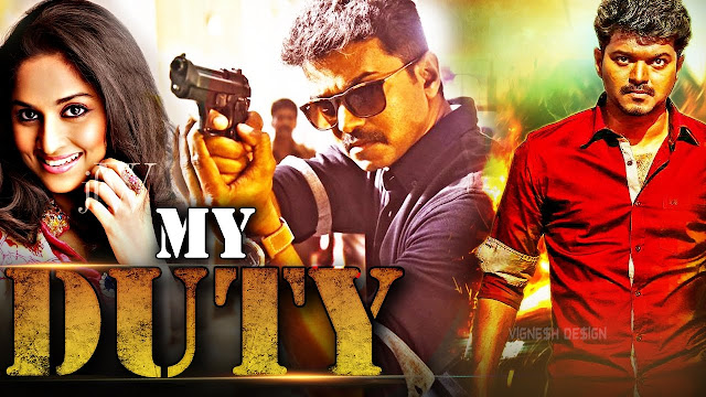 My Duty (Kannukkul Nilavu) Hindi Dubbed Movie Full HDRip 720p