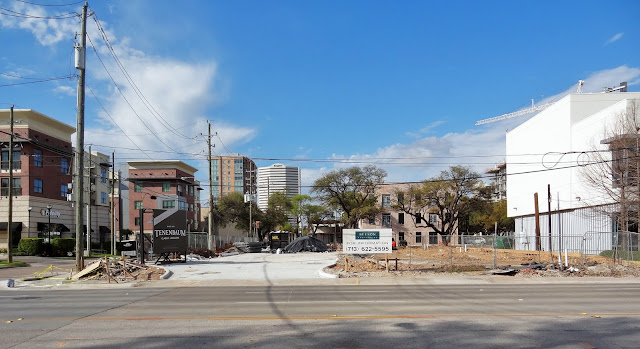 Developer BEESON PROPERTIES banner posted on site March 2016