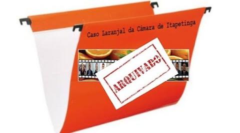 Arquivamento de denuncias oficializa laranjal na Câmara de Itapetinga