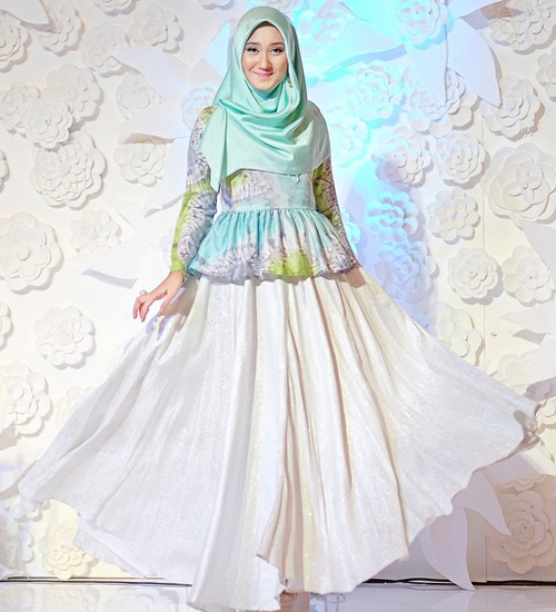 model baju pesta dian pelangi