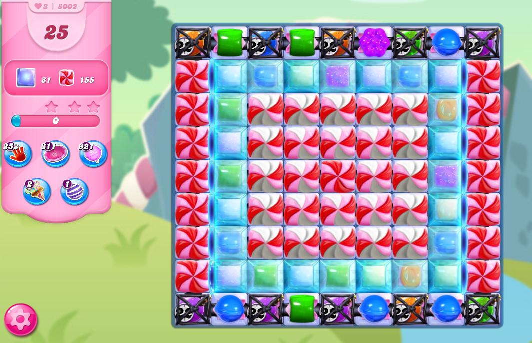 Candy Crush Saga level 8002
