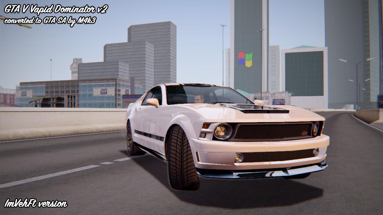 M4k3 mods: [REL] GTA 5 Vapid Dominator v2