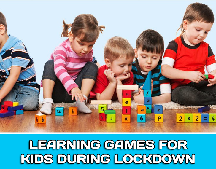 Learning games for children during lockdown