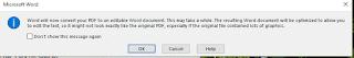 Microsoft convert to editable pdf