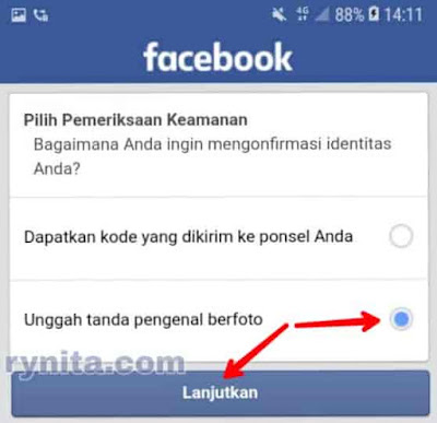 Cara Mengatasi Akun FB Kena Sesi Permanen, Unggah Tanda Pengenal Berfoto
