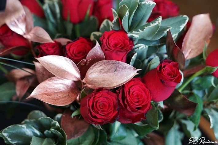 Red Rose Bouquet for Valentines Day from Prestige Flowers