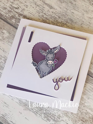 Stampin up Darling Donkeys