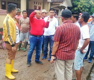 Korban Banjir di Kecamatan Katibung Dapat Bantuan