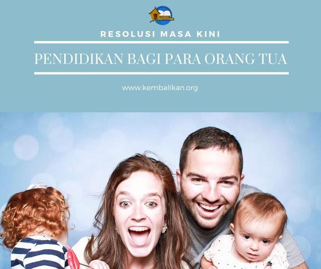 Pendidikan Bagi Para Orang Tua