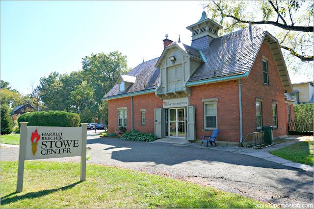 Centro de Visitantes del Museo de Harriet Beecher Stowe en Hartford, Connecticut