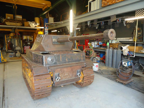 Daily Turismo: 5k: Panzer IV Tank Project