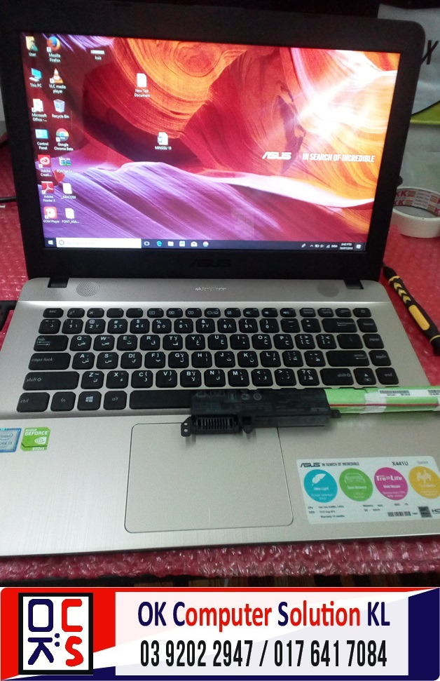 [SOLVED] AUTOSHUTDOWN ASUS X441U | REPAIR LAPTOP CHERAS 8