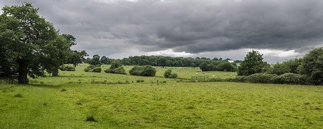 Views from North Bucks Way to Whaddon Hall