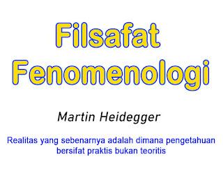 Pengertian Aliran Filsafat Fenomenologi Beserta Para Tokoh Filsufnya