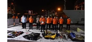 74 Kantong Jenazah Korban Sriwijaya Air SJ 182 Sudah Dievakuasi
