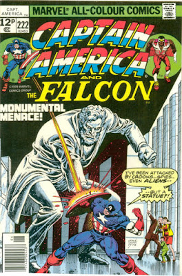 Captain America and the Falcon #222, Abraham Lincoln