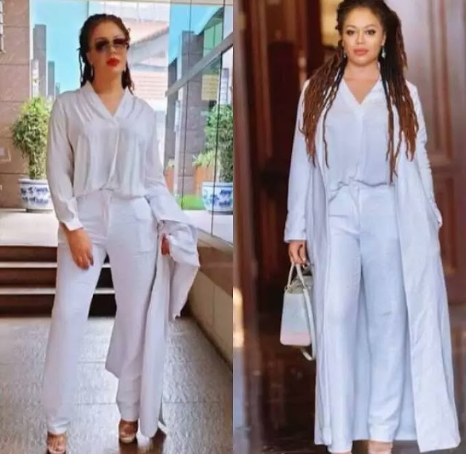 Actress Nadia Buari Shares Her Hot Slim Pictures