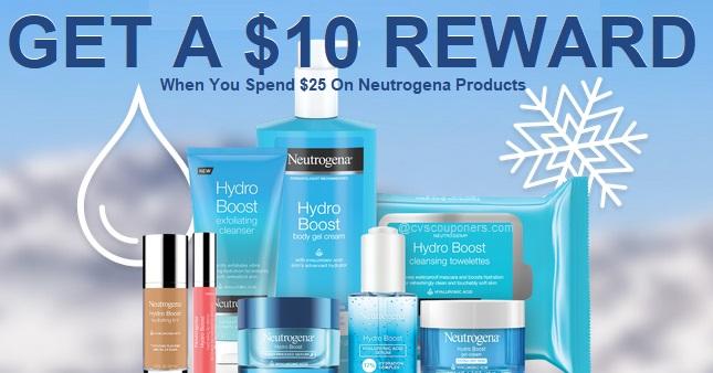 Neutrogena Free $10 Visa Card WYS $25