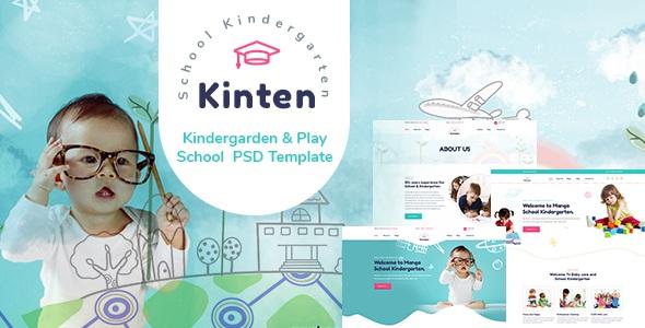 Kindergarden & Play School Template