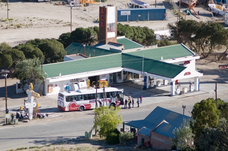 Service Station in Valdes Peninsula Puerto Piramides