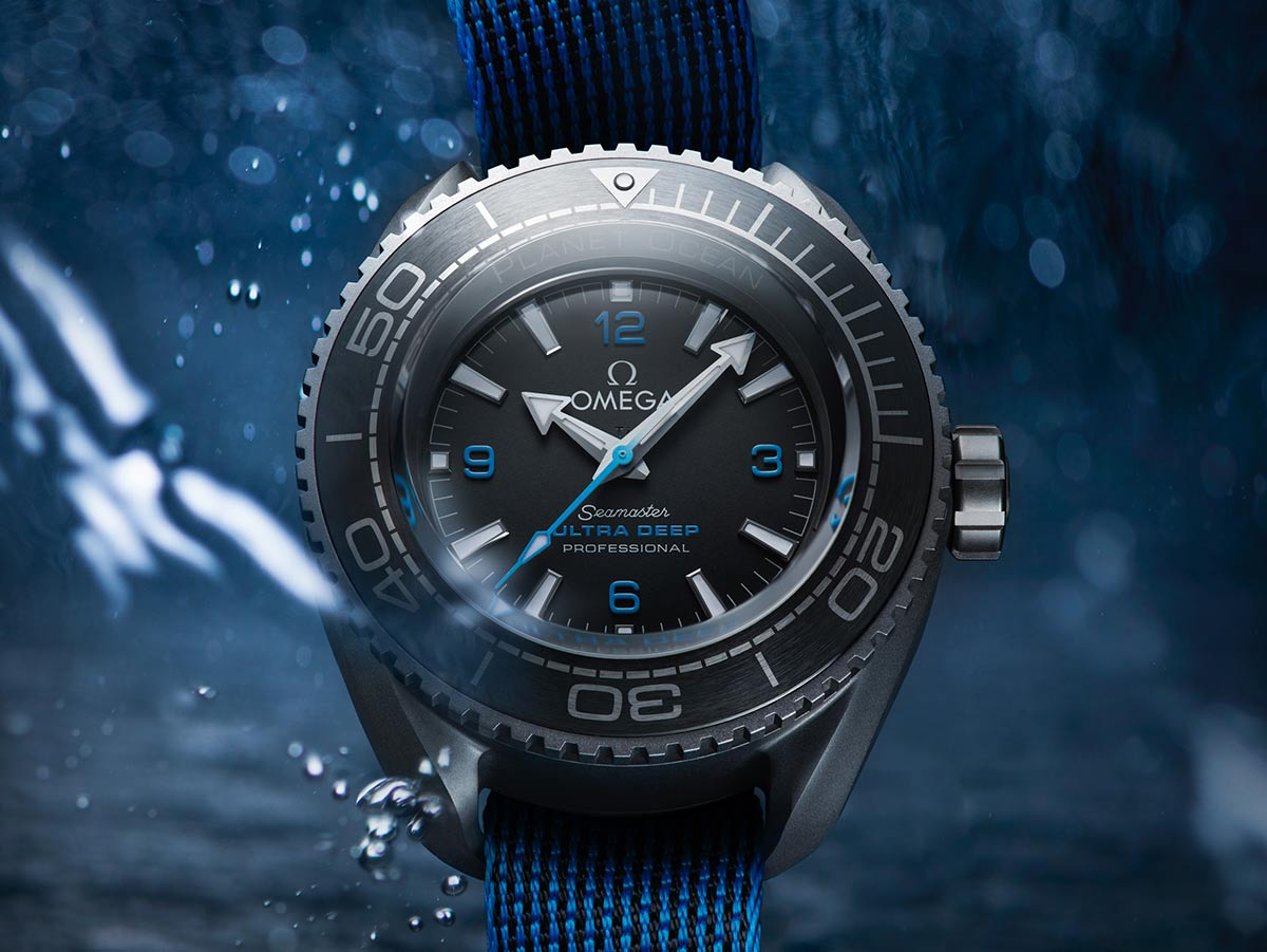 The Omega Seamaster Planet Ocean Ultra Deep Used In The