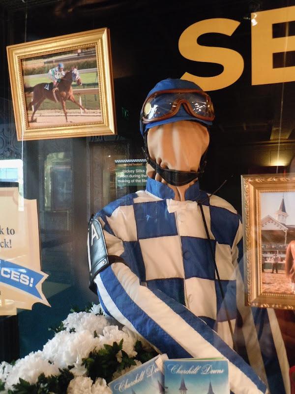 Secretariat Jockey silks