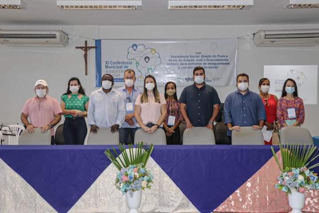 Assistência social Realizou XI Conferência Municipal de Assisitência Social em Cacimbinhas.