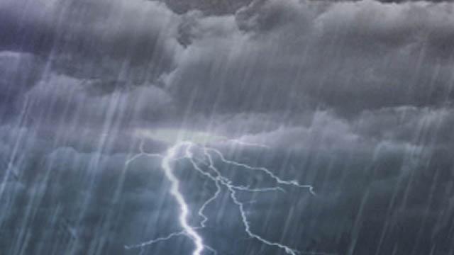 Meteorología pronostica aguaceros y tormentas eléctricas en varias provincias esta tarde; mantiene alertas en esas  zonas del país