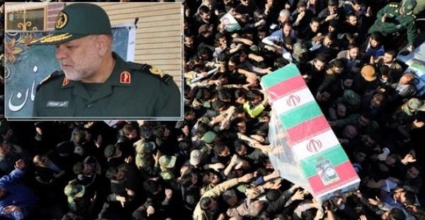 Tertembak : Jenderal Iran kembali Mati Dibunuh di Suriah