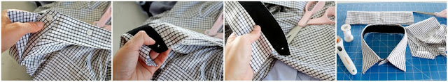 Cutting the Collar off a Men's Dress Shirt