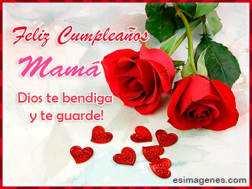 tarjeta cumpleaños mamá
