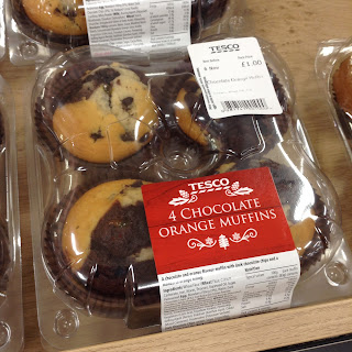 tesco chocolate orange muffins