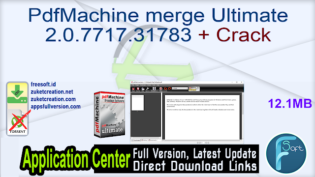 PdfMachine merge Ultimate 2.0.7717.31783 + Crack