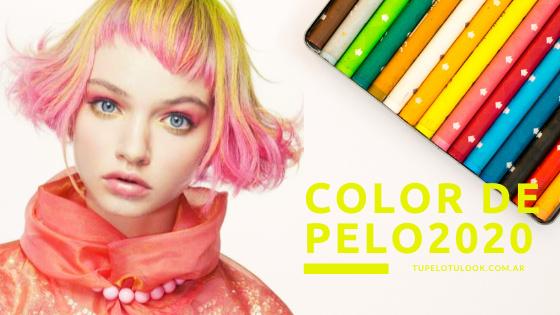 color pelo 2020