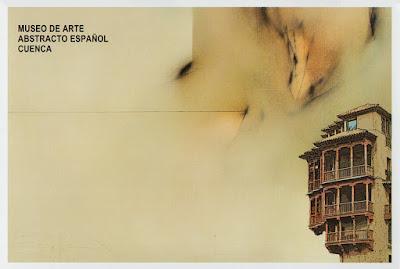 Tarjeta prefranqueada del Museo de Arte Abstracto de Cuenca