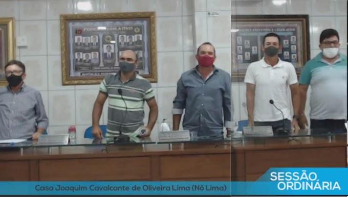 Vereadores de oposição de Araruna rejeitam requerimento que pedia presença do prefeito na Câmara
