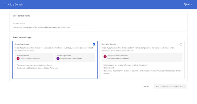 New streamlined experience for managing users and domains in the Admin console 7